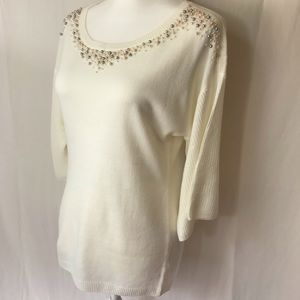 NEW YORK & COMPANY Size Medium Summer Sweater NWT